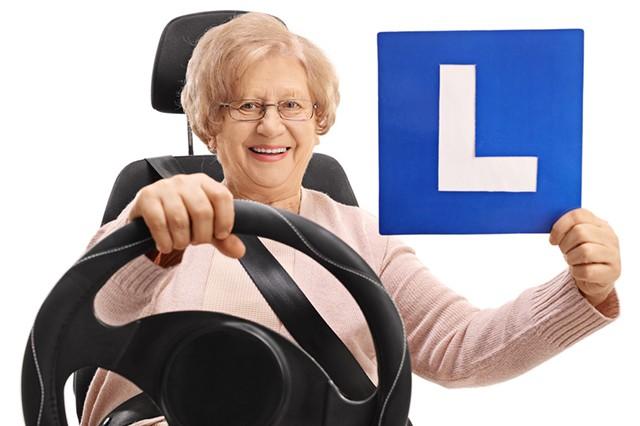 Auffrischen des Führerscheins
